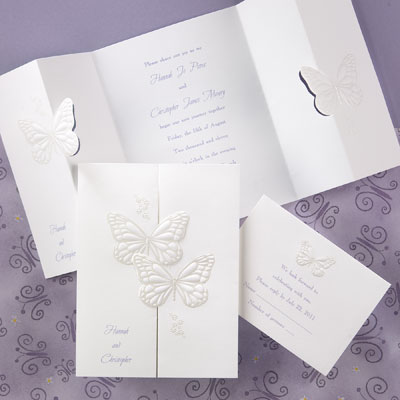 butterfly wedding invitations, butterfly invitations favors, Wedding invitations
