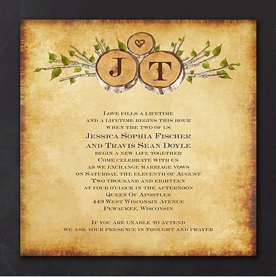 River Themed Wedding Invitations is adorable invitations sample