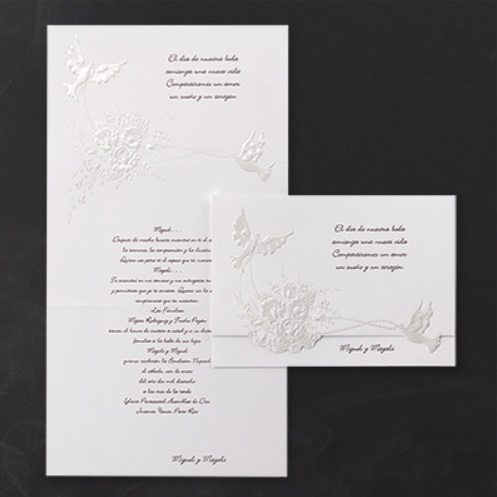 Dove Wedding Invitations Doves Theme Supplies