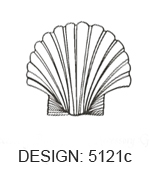Scallop Seashell Beach Wedding Napkins