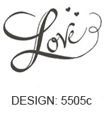 Love Design Wedding Napkins