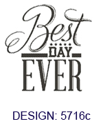 Best Day Ever Wedding Napkins