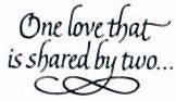 One Love that is shared by Two