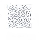 Celtic Wedding Napkins - Celtic Knot Design