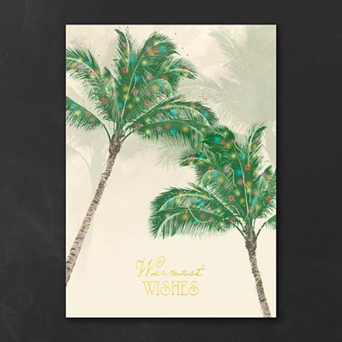 palmtree christmas cards - Palm Tree Christmas Cards