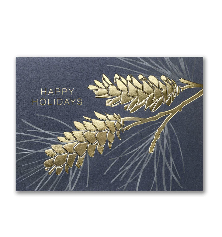 Personalized Business Christmas Cards.Business Christmas Cards Personalized Holiday Cards Pinecone